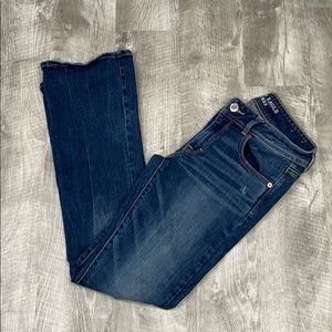 American Eagle Distressed Kick Boot jeans - 6
